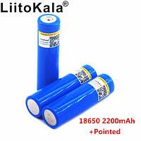 Аккумулятор Liitokala 18650 2200 Mah Li-Ion Синий