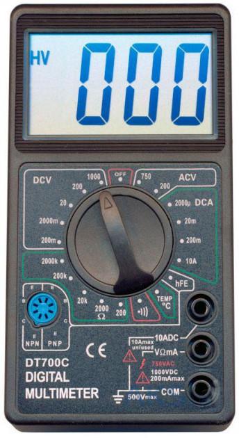 Мультиметр Digital Dt700C Цифровой Мультиметр Тестер