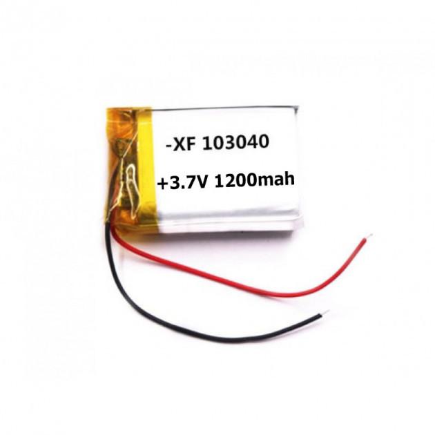 Аккумулятор Литий-Полимерный 1200Mah 3.7V 103040 3.7V Mb