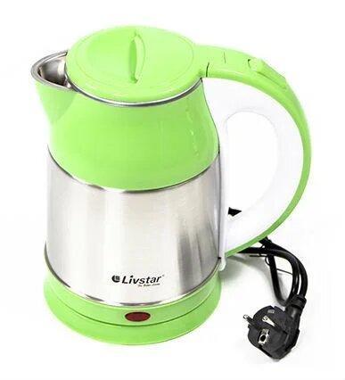 Электрический Чайник Livstar Lsu-1127 1.8 Л 1800 Вт Зеленый Электрический Чайник Livstar 1127