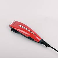 Машинка Для Стрижки Maestro Mr-652C Красный Сетевая Машинка Для Стрижки Волос От Сети Maestro, фото 1