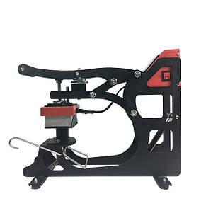Термопресс FJ MAGCAP-200 с магнитом,  для 4 видов кепок и плоской плитой 15х15см, фото 2