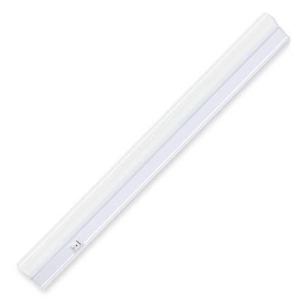 Линейный светодиодный светильник SIGMA-4 4W Т5 матовый 4200К 282мм 220V с выкл. Код.58086, фото 2