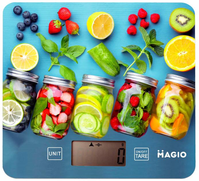 Весы Кухонные Magio Mg-796 5 Кг Стеклянные Весы Кухонные Весы Электронные Magio 796