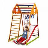Детский спортивный комплекс для дома KindWood Plus 1, фото 6