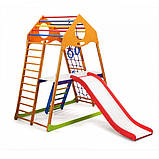 Детский спортивный комплекс для дома KindWood Plus 2, фото 4