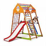Детский спортивный комплекс для дома KindWood Plus 2, фото 7