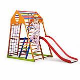 Детский спортивный комплекс для дома KindWood Plus 2, фото 9