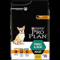 Purina Pro Plan Adult Small and Mini Optibalance 3кг - для собак дрібних порід з куркою