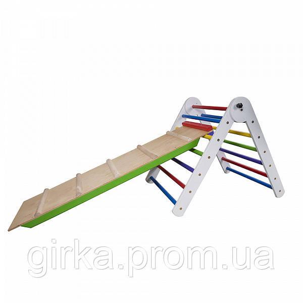 Треугольник пиклера от 2 месяцев - Цвет 65 см с горкой