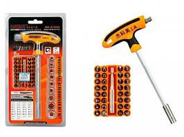 Набор Инструментов Jakemy Jm-6106 43 В 1 Отвертка С Битой