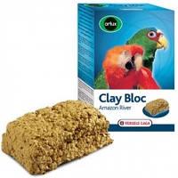 Мінеральний блок з глиною для середніх і великих папуг Versele-Laga Orlux Clay Bloc Amazon River (0,55 кг)