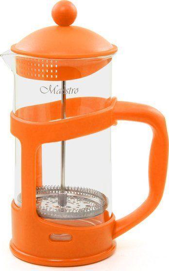 Френч-Пресс Maestro Mr-1665-800 Оранжевый