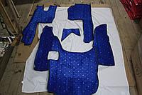 Коврики в салон Scania G420 синие 08-11  из материала