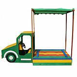 Песочница грузовик, фото 4