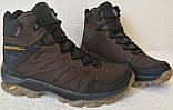 Тёплые ! Ботинки зимние мужские merrell кожаные коричневые, фото 3