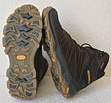 Тёплые ! Ботинки зимние мужские merrell кожаные коричневые, фото 4