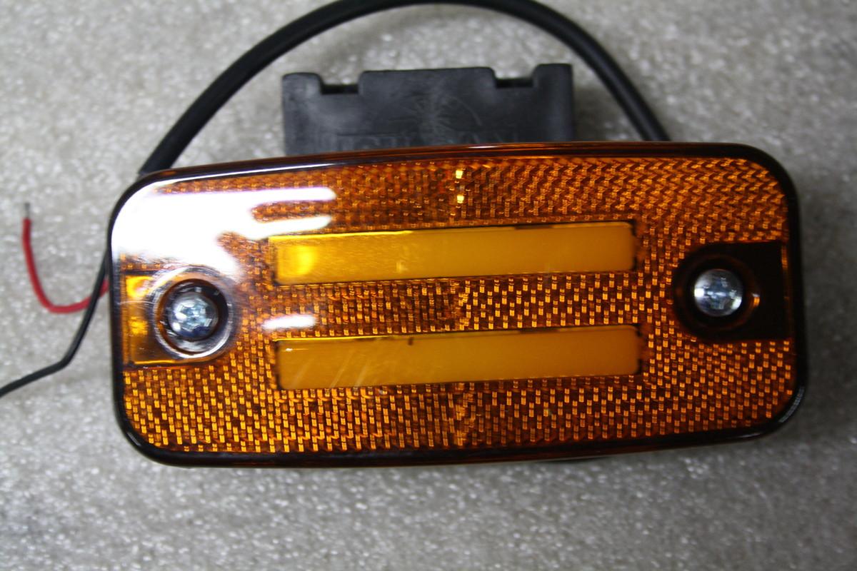 Ліхтар габаритний неоновий жовтий 2-х смуговий ISS20301B