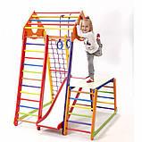 Детский спортивный комплекс  BambinoWood Color Plus 1-1, фото 3