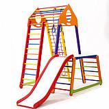 Детский спортивный комплекс  BambinoWood Color Plus 1-1, фото 5