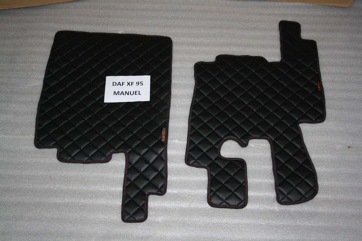 Коврики в салон Daf XF 95 чорные из 5-ти частей (механика)