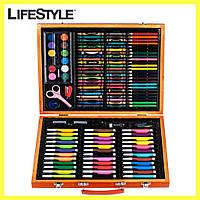 Художественный набор для творчества 150 предметов / Набор для рисования в чемодане, фото 1