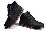 Мужские кожаные зимние ботинки Walker Seazone Blue Line, фото 5