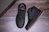 Мужские кожаные зимние ботинки Walker Seazone Blue Line, фото 7
