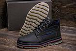 Мужские кожаные зимние ботинки Walker Seazone Blue Line, фото 10