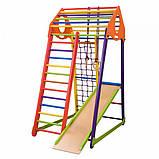 Детский спортивный комплекс BambinoWood Color, фото 5