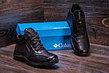 Мужские зимние кожаные ботинки Columbia ZK Antishok Winter Shoes (реплика), фото 7
