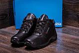Мужские зимние кожаные ботинки Columbia ZK Antishok Winter Shoes (реплика), фото 10