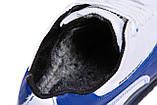 Мужские зимние кожаные кроссовки  Puma BMW MotorSport White Pearl (реплика), фото 6