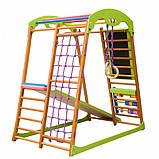 Детский спортивный комплекс для дома BabyWood Plus, фото 7