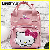 Детский городской рюкзак-сумка Hello Kitty