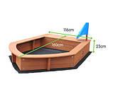 Песочница лодочка, фото 2