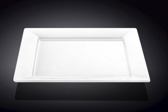 Тарелка обеденная квадратная Wilmax 25Х25 см WL-991223