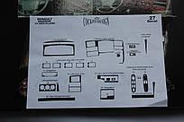 Накладки на панель RENAULT MAGNUM 1997-2000