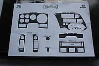 Накладки на панель DAF 95 XF 1997-2002
