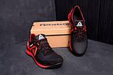 Мужские кожаные кроссовки  Reebok SPRINT TR  Red (реплика), фото 7