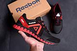 Мужские кожаные кроссовки  Reebok SPRINT TR  Red (реплика), фото 8