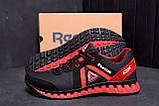 Мужские кожаные кроссовки  Reebok SPRINT TR  Red (реплика), фото 9