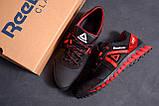 Мужские кожаные кроссовки  Reebok SPRINT TR  Red (реплика), фото 10