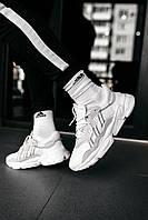 Кроссовки мужские Adidas Wmns Ozweego Cloud White 43