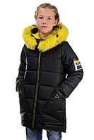 Зимнее пальто для девочки 128-152 рост