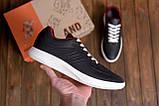Мужские кожаные кроссовки YAVGOR Black, фото 10