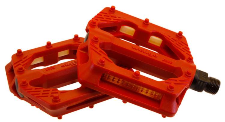 Педалі Wellgo B223N пластик червоні