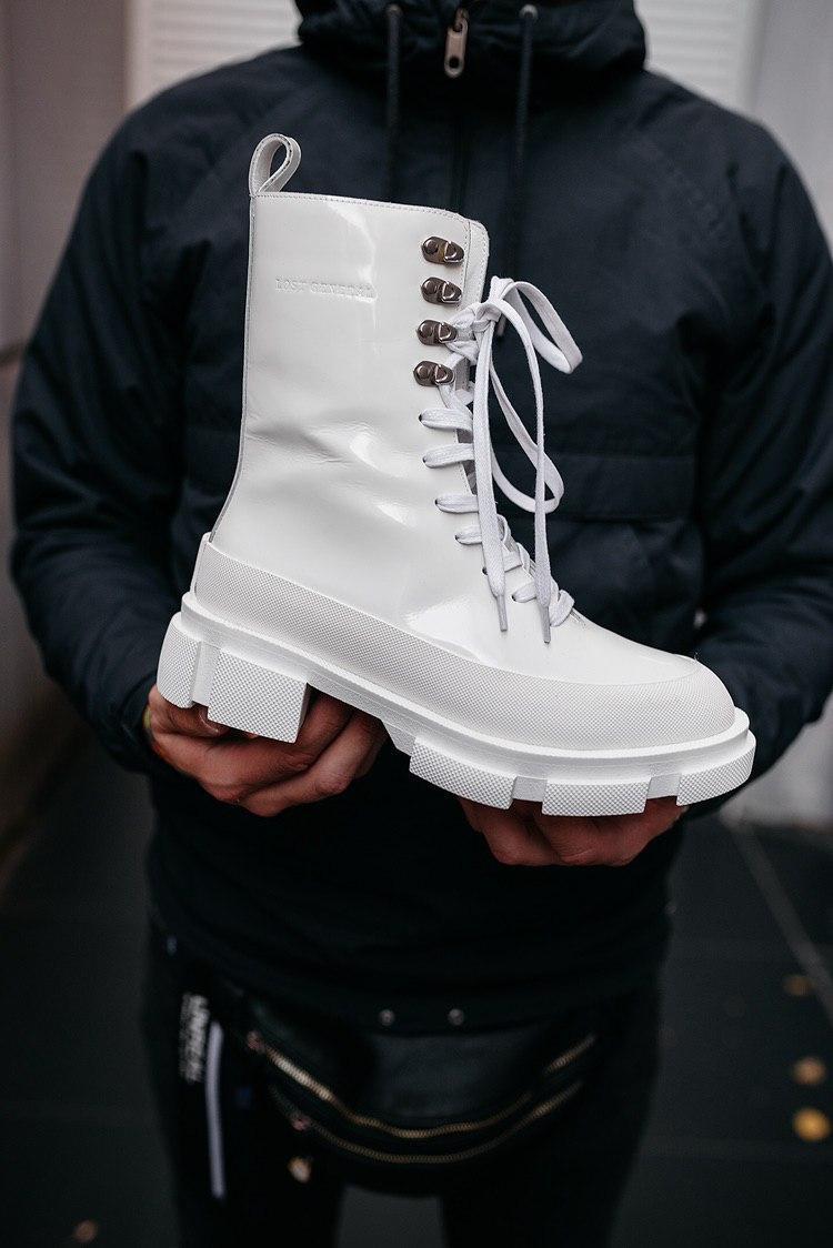 Женские белые Ботинки BOTH Gao (реплика)