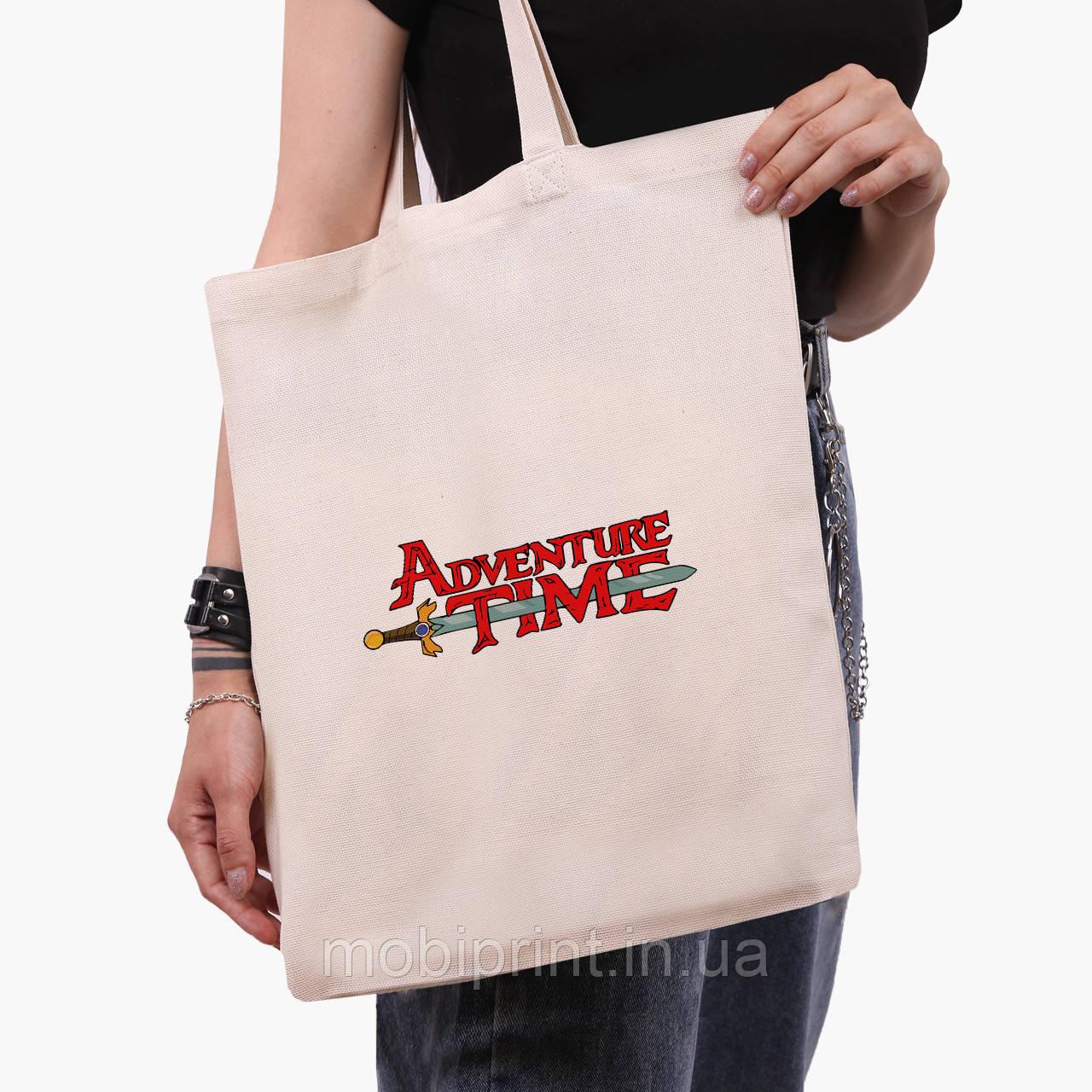 Еко сумка шоппер Час пригоди (Adventure Time) (9227-1582) екосумка шопер 41*35 см