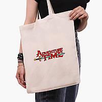 Еко сумка шоппер Час пригоди (Adventure Time) (9227-1582) екосумка шопер 41*35 см, фото 1